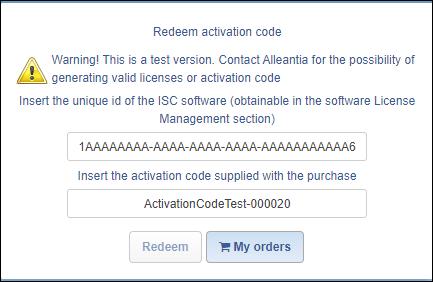 Reedem activation code-my orders-1